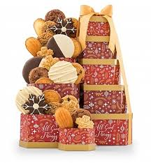 winter wishes cookie tower gift towers a big collection