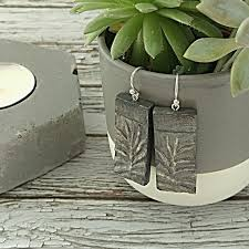 sterling silver earrings sensitive ears 244 best handmade jewelry eco friendly air clay
