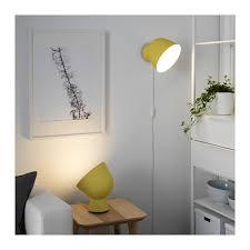Ikea Desk Lamp Light Bulb Ikea Ps 2017 Table Lamp With Led Bulb Yellow Ikea Ps Ikea Ikea