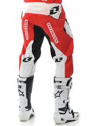 one industries motocross helmets one industries red white honda 2013 world motocross defcon mx pant
