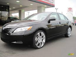2009 toyota camry le in black 050464 jax sports cars cars