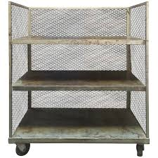 Industrial Kitchen Cart by Viyet Designer Furniture Storage Vintage Tiered Metal