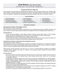 Cio Sample Resume Sample Resume For Information Security Analyst Resume For Your