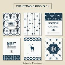 modern christmas cards modern christmas card pack vector free