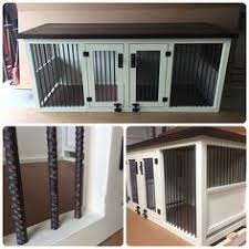 Diy End Table Dog Crate by Prettiest Dog Crate You U0027ve Ever Seen Of Course It U0027s Diy Wood