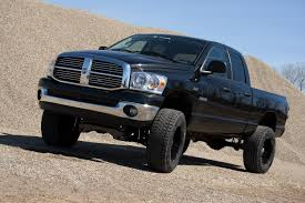 dodge ram 1500 with 6 inch lift zone offroad 6 suspension system d4
