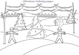 christmas snowman printable coloring pages