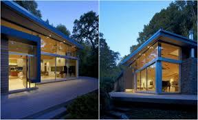 modern house california california modern house nestle between a stream and a hillside