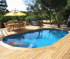 above ground pool deck and landscaping ideas above ground pool
