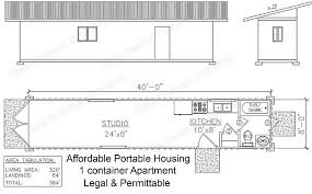 Storage Container Homes Floor Plans Affordable Housing Container Home Plans