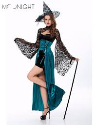 aliexpress com buy moonight witch costume deluxe