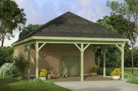 house plans detached carport house plans
