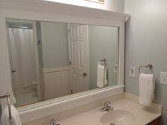 how to frame a bathroom mirror with molding how to frame a bathroom mirror diy mirror moldings and bathroom