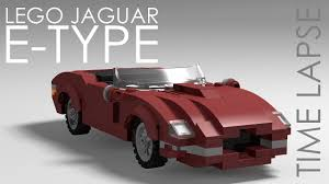 koenigsegg lego lego jaguar e type time lapse youtube