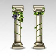 Greek Column Pedestal Ancient Greek Columns U2014 Stock Vector Uropek8 53038233