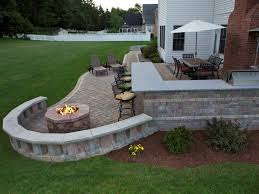 Small Outdoor Patio Ideas by Patio 22 Decorating Small Round Fire Pit For Outdoor Patio