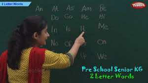 2 letter words two letter phonics words sight words pre
