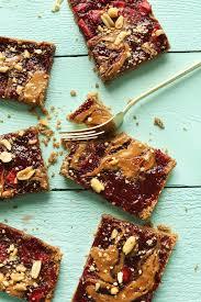 Almond U0026 Coconut Bars Coconut Snack Bars Kind Snacks by Peanut Butter And Jelly Bars Minimalist Baker Recipes