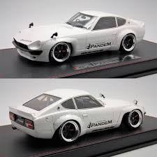 Unusual43 1 18th Make Up Rocket Bunny 240z Pandem White