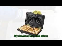 220v Toaster 220v 640w Slice Sandwich Maker Multifunction Non Stick Household