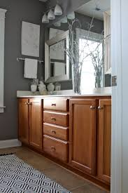 Yellow And Grey Bathroom Decorating Ideas Gray Bathroom Wall Color This Is The Color Of The Wood In Te House