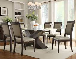 dining room pretty glass dining room sets cool round table with