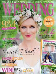Wedding Magazine Template Best Bridal Make Up Amanda White