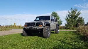 jeep cherokee modified meet the pathkiller a tuned wrangler with a cherokee xj face w