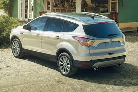 Ford Escape White - 2017 ford escape review automobile magazine
