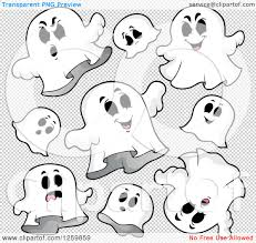 halloween background ghosts clipart of halloween ghosts flying royalty free vector