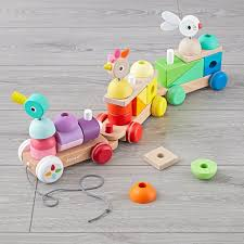 for 1 year olds janod giant multicolored train best toys for