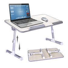 table ordinateur portable canapé mapux table multifonctions réglable en hauteur et en angle table