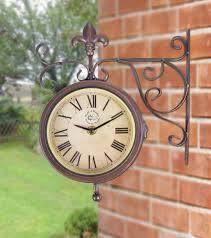 Garden Wall Clocks by Blog Griffins Garden Centre