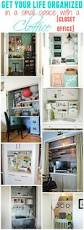 best images about diy organization storage pinterest get organized small space with cloffice office closet