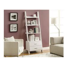 Small Bookcase White Interior Inspiring Interior Storage Ideas With Exciting Leaning
