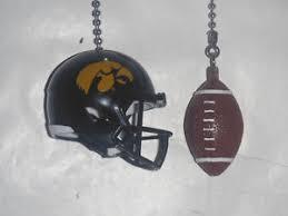 ceiling fan pull chain set iowa hawkeyes helmet and football ceiling fan pull chain set gold