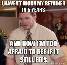 Orthodontist Meme - orthodontic treatment the importance of retention castleknock