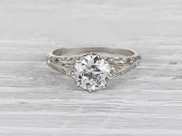 the antique engagement rings for your special moment jewelry