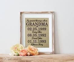 grandmother gift mothers day gift for grandmother personalized grandmother gift