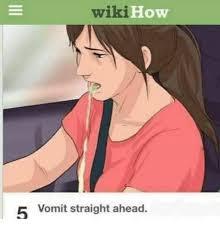 Wiki Meme - wiki how vomit straight ahead meme on esmemes com
