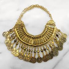 coin necklace gold images Gold turkish coin necklace mala kamal beverly hills JPG