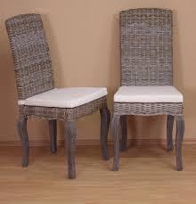Esszimmerst Le Selber Zusammenstellen Stuhl Set 2 Stück Rattan Rattanstühle Esszimmerstühle Stühle Weiß