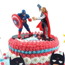 superman cake toppers superman captain america batman iron cake toppers for birthday