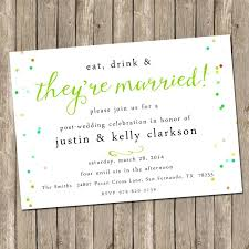 wedding reception only invitation wording wedding reception invitations simplo co