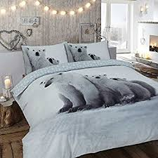 Brushed Cotton Duvet Cover Double Imperial Rooms Luxury 100 Brushed Cotton Thermal Flannelette