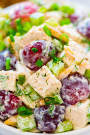 greek yogurt chicken salad with dill easy and healthy