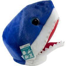 Big Head Halloween Costumes Shark Maskimal Adorable Large Plush Head Mask Accessory Halloween