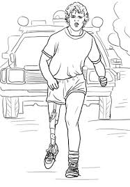 Terry Fox Run Coloring Page Free Printable Coloring Pages Eleanor Roosevelt Coloring Pages
