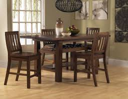 High Dining Room Tables Maysville Counter Height Dining Room Table And Barstools Set Of 5