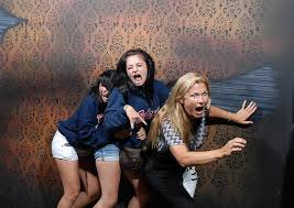 Haunted House Meme - 50 hilariously ridiculous haunted house reactions
